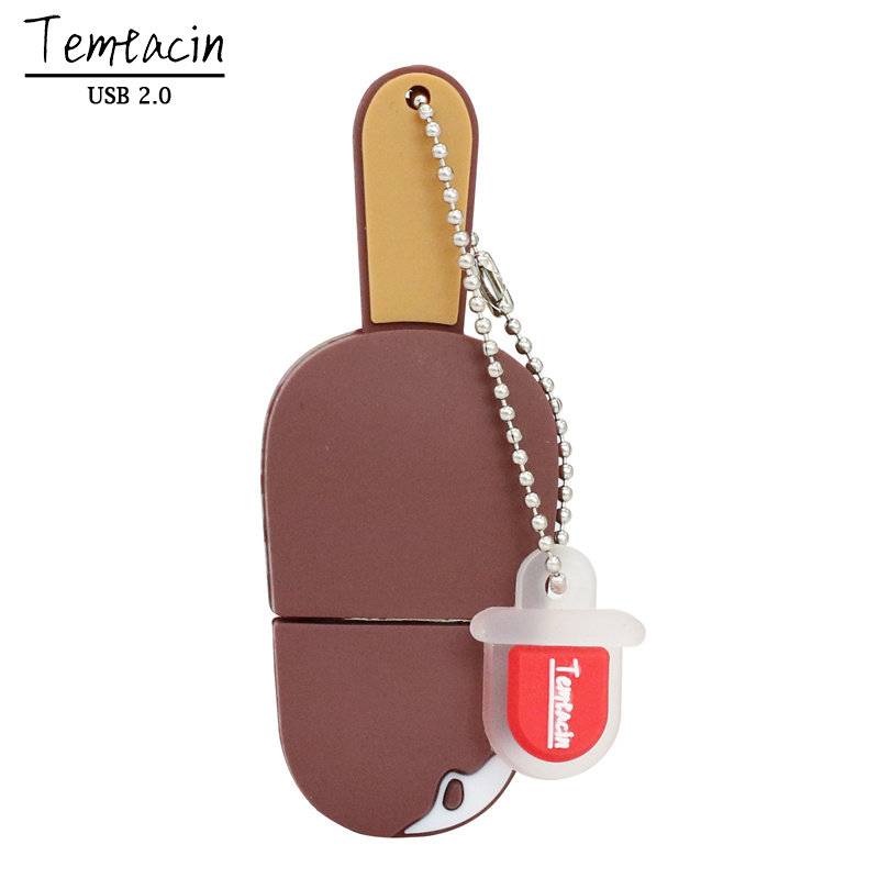Lifelike Chocolate Ice Cream PVC USB 2.0 Flash Drive 64 GB 32 GB 16 - Extern lagring - Foto 2