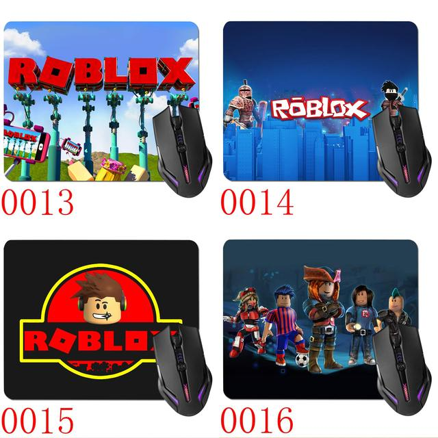 US $3 75 |Wellcomics 18*22cm Play Game Mat Roblox Rock Band Soft Rubber  Optical Laser Mouse Pad Control Edition Cushion Gamer Mousepad on