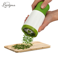 LMETJMA Herb Grinder Spice Mill Parsley Shredder Chopper Kitchen Herb Chopper Grater Cheese Grater Vegetable Tools
