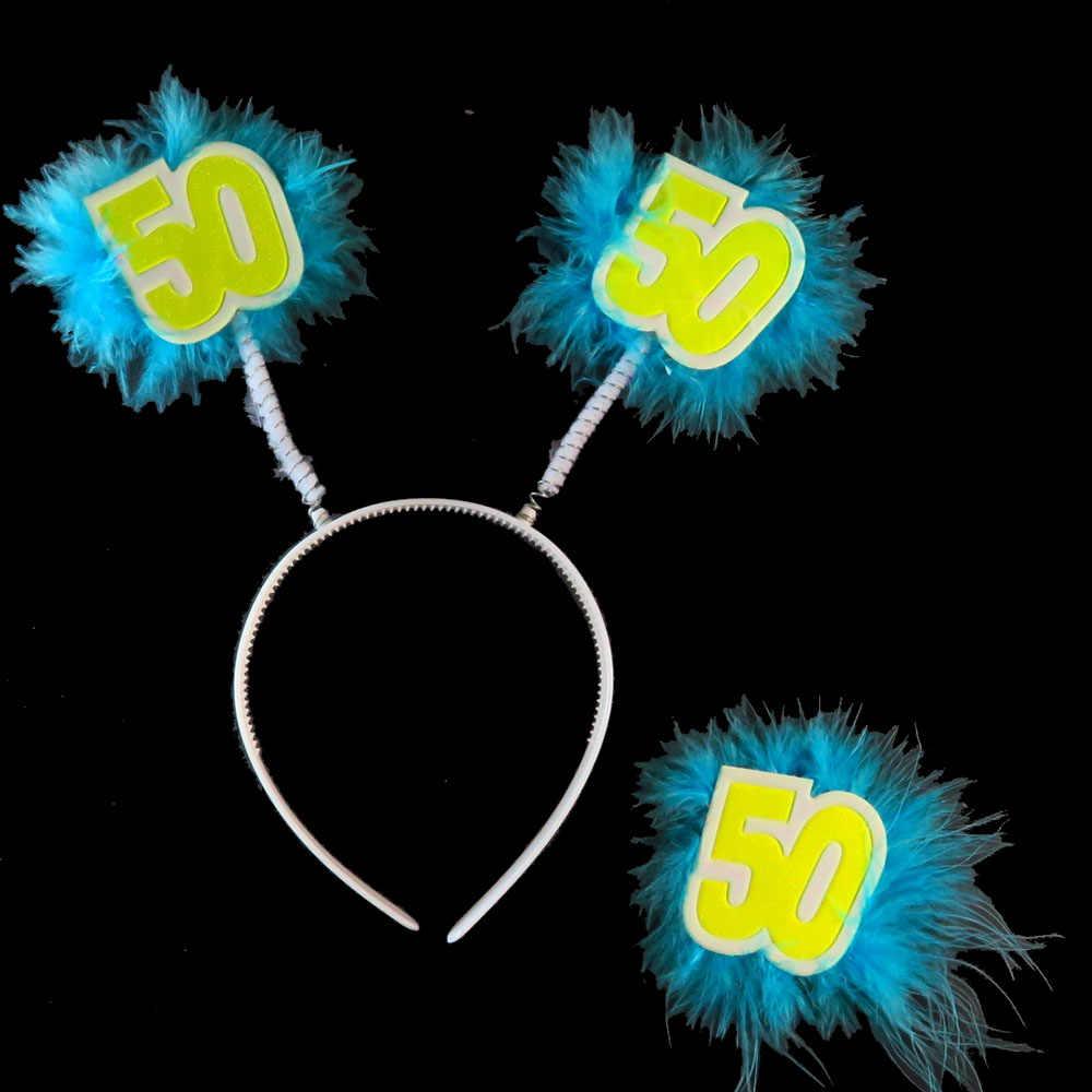 2018 синий день рождения вечерние обруч-украшение для волос Набор для игры в пожарных для мужчин и женщин взрослый желтый 21 30 40 50 счастливый день рождения, мероприятие, вечеринка поставки