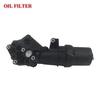 Oil Filter Adapter Housing w/ Gasket Egine Oil Filter For VW New Beetle Jetta III Golf MK V 2.507K115397A / B / D