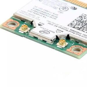 Image 3 - Dual Band wireless ac dla Intel 3160 3160HMW 802.11ac Wifi + Bluetooth 4.0 Mini Karta PCI E 2.4G i 5 ghz 802.11a/b/g/n/AC