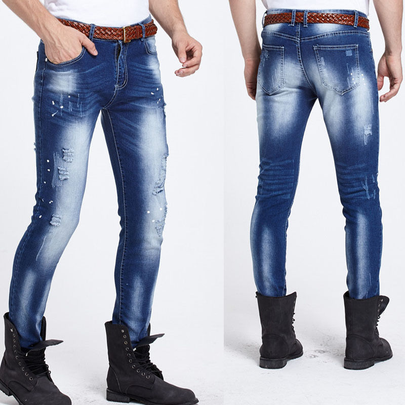 Online Buy Wholesale stylish skinny jeans men from China stylish ...