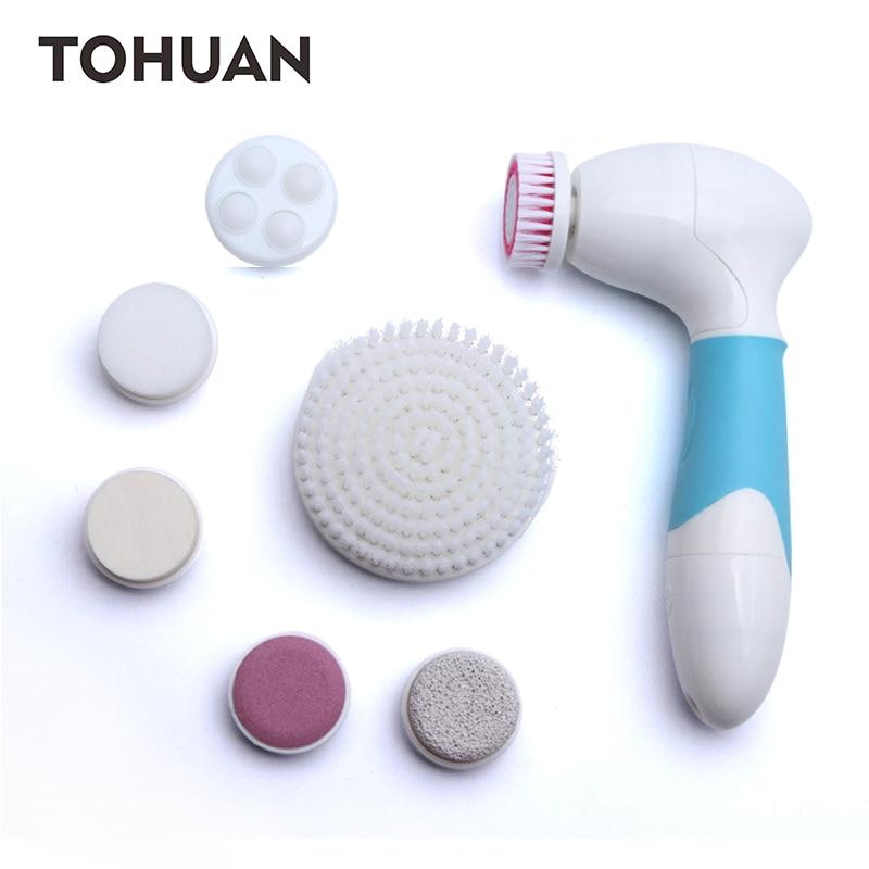 Večnamenska električna ščetka za čiščenje obraza večnamensko električno ultrazvočno telo za nego telesa masažne ščetke za obraz Obraz za čiščenje obraza