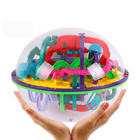 Maze Ball Toy,Labyrinth Ball Maze 299 Steps 3d Magic Puzzle,3d Perplexus Maze Cube Ball,Children Educational Puzzle Games