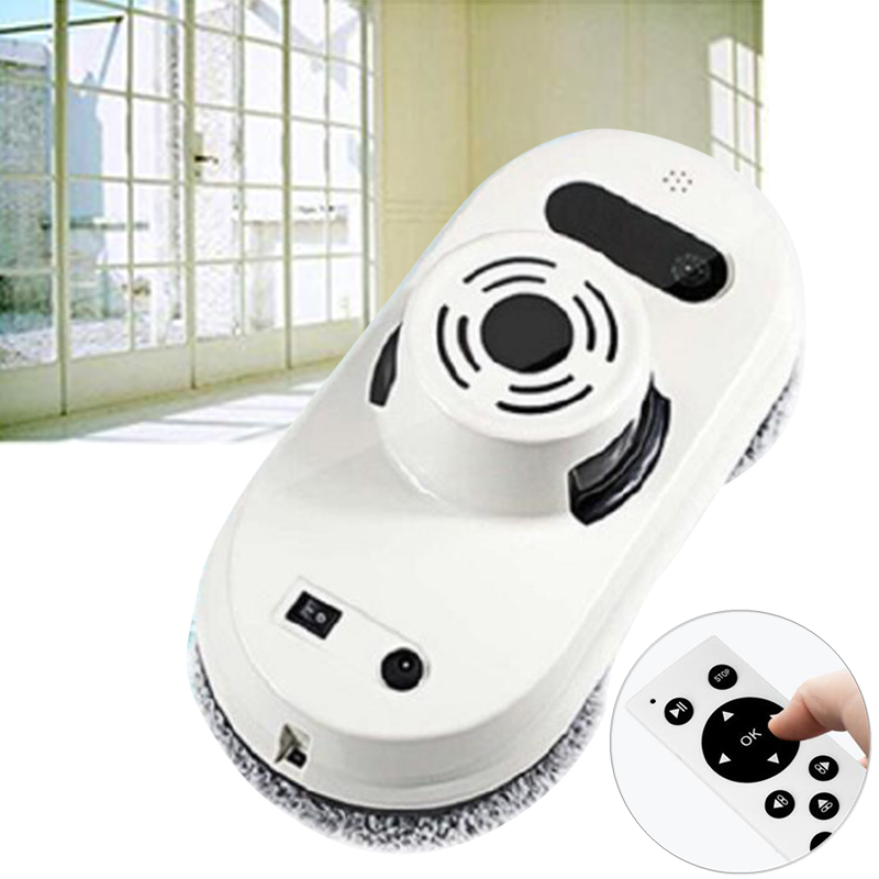 Robot Window Cleaner Window Cleaning Robot High Suction Window Cleaner Robot Anti-falling Remote Control Vacuum Cleaner remote control wet and dry function auto clean anti falling magnetic electric window cleaner robot