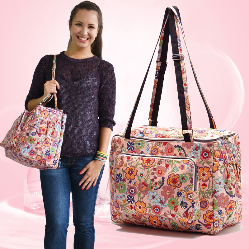ФОТО vintage flower print big capacity fashion mommy diaper bags zipper baby nappy changing bags mother messenger nappy bag for baby