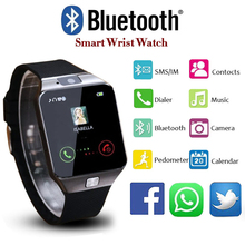 Bluetooth DZ09 Smart Watch Men Smartwatch 2017 Android Wristwatch relogio inteligente Support SIM Card Android Phone