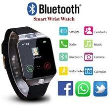 Bluetooth DZ09 Smart Watch Men Smartwatch 2017 Android Wristwatch relogio inteligente Support SIM Card Android Phone DZ 09
