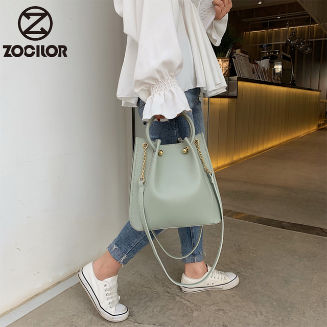 Fashion Women Handbag pu Leather Women Shoulder Bags  Famous Brand Designer Women Bags Ladies Casual sac a main 2