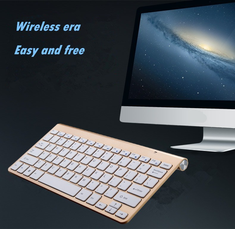Fashion Bluetooth Keyboard Mini for IOS Android Windows OS Tablet PC for keyboard mac for iPad Tablet PC