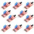 Envío gratis KY-026 10 unids/lote módulo de Sensor de llama Detector Sensor IR Smartsense para detección de temperatura adecuado
