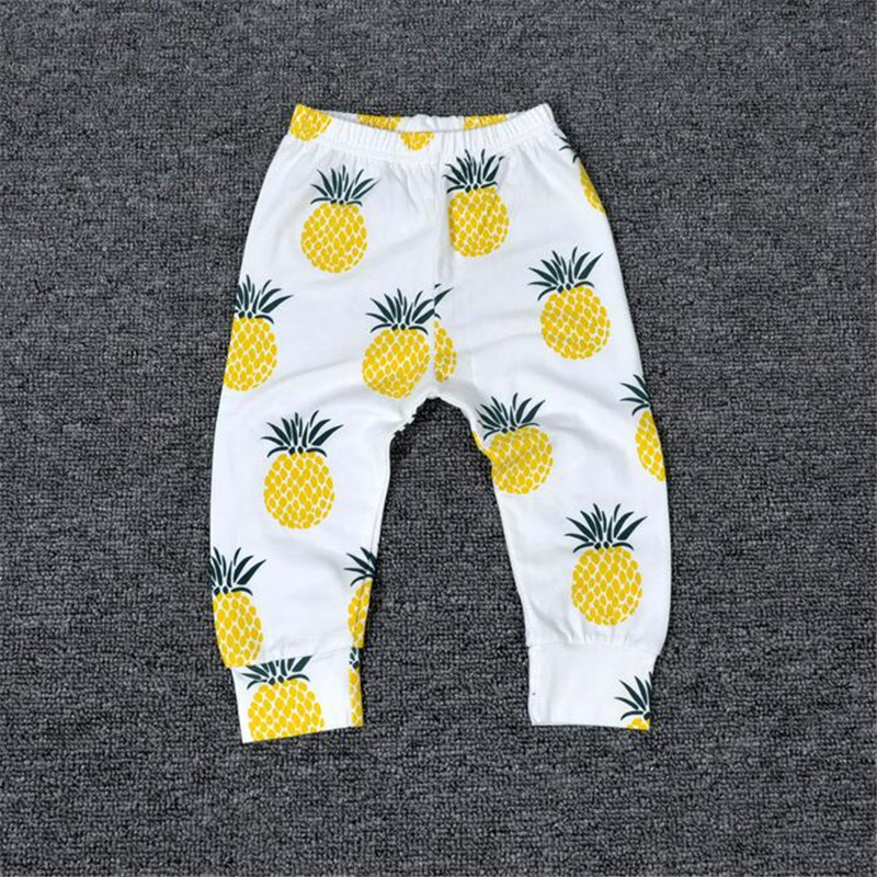 1454246840994 US $2.99 21% OFF Baby Bobo Choses New Summer Boys T Shirt Kids Tops  Pineapple Pattern Girls T shirt Boys Pants Clothes Children's Clothing  Sets-in ...
