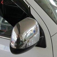 For Mitsubishi ASX /outlander Sport 2010 2011 2012 RVR ABS Chrome Rearview Mirror Decoration Parking Rear Mirror Cover Trim 2pcs