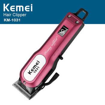 Kemei Professional Cordless Hair Clipper Electric Hair Beard Trimmer Powerful Hair Shaving Machine Hair Cutting Razor Barber - Category 🛒 Beauty & Health