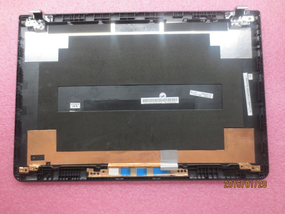 New Original for <font><b>Lenovo</b></font> <font><b>ThinkPad</b></font> <font><b>E550</b></font> E550C E555 E560 LCD Shell Top Lid Rear Cover Black Case 00HN435 for Model with 3D Camera image