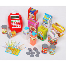 Supermarket Cashier Cash Register Pretend Play Educational T