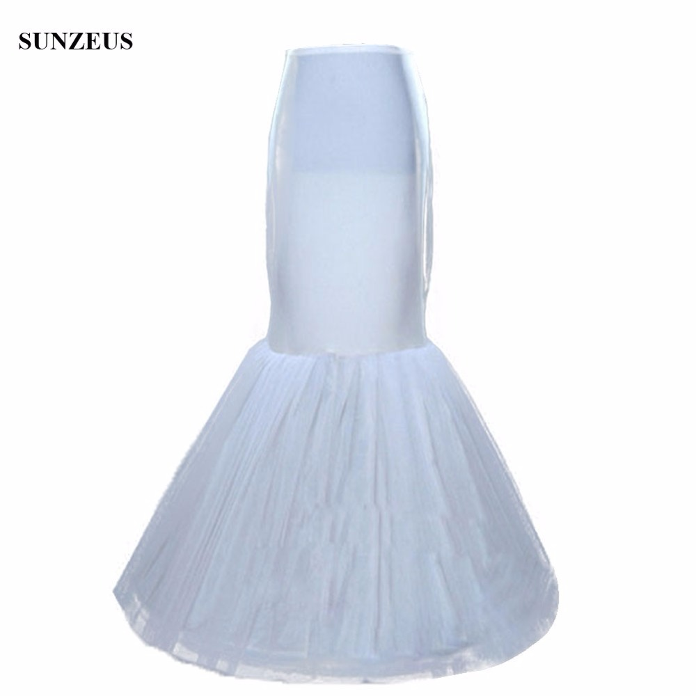 ᐅMermaid Petticoat Wedding Dress Underskirt Birdal Enaguas Long ...
