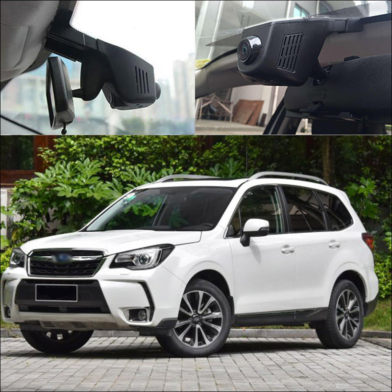 BigBigRoad For Subaru Forester wrx brz Outback Legacy Impreza 2014 Car Wifi DVR Car Video Recorder Novatek 96658 Car Black Box bigbigroad for subaru xv wifi car dvr fhd 1080p video recorder hidden installation g sensor novatek 96658 black box dash cam