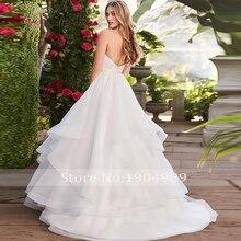 Liyuke 2019 Married Ball Gown Wedding Dress Backless
