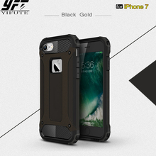 ФОТО yifute phone case for iphone 7 cover slim armor anti-shock silicone hard pc phone case for iphone7 case heavy duty protection