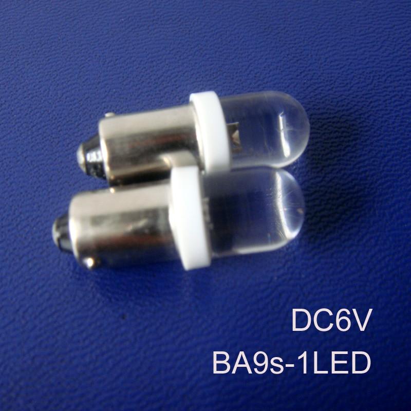 High quality 6V car BA9S led bulb,BA9S 6.3V led Instrument Lights,led ba9s 6v lamp free shipping 10pcs/lot