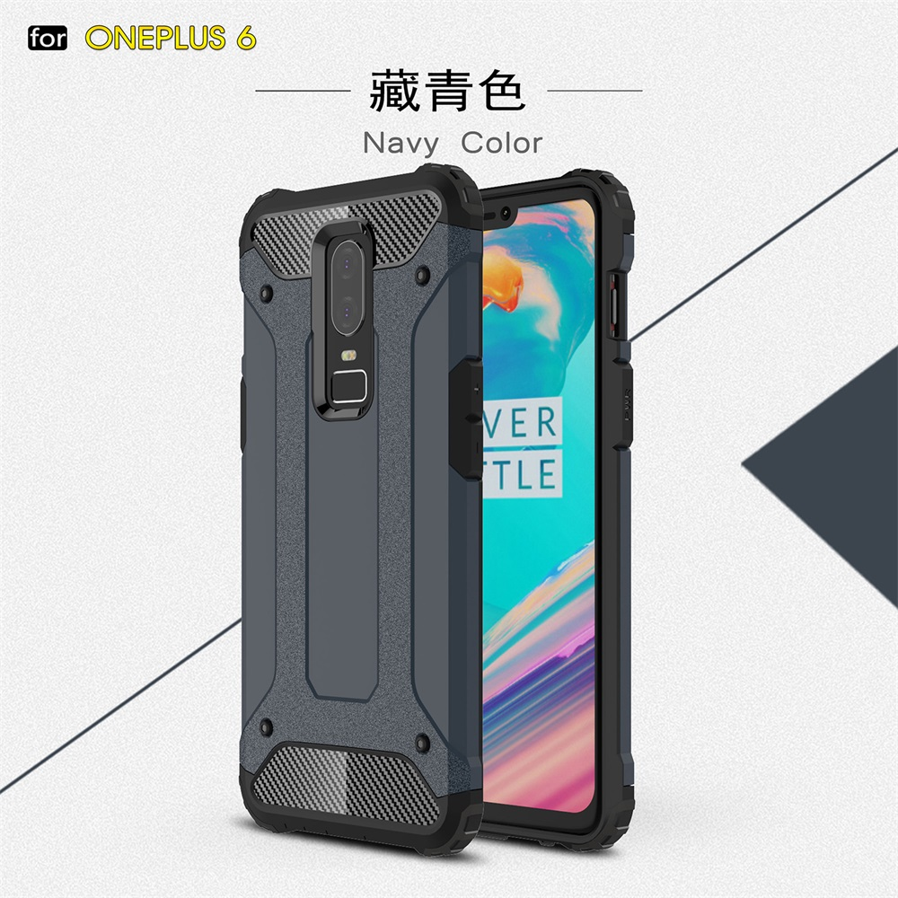 Case For Oneplus 5 5T Shockproof Armor Hard PC Silicone Case For Oneplus 6 6T Soft TPU Phone Case Cover Coque Shell