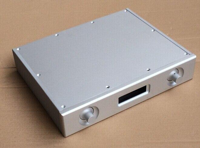 ES9018 plein aluminium amplificateur DAC décodeur châssis/AMP Shell/boîtier/boîte bricolage (321*62*252mm)