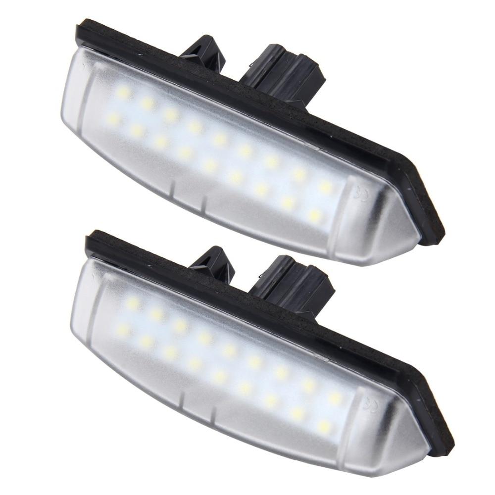 Kennzeichenbeleuchtung Für Toyota Camry 18 SMD 3528 LED Auto Auto ...