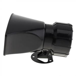 Image 4 - 12v 7 音トーンラウド車の警告警報警察消防サイレンホーン 100 ワット自動スピーカー黒ワイヤレスリモコン