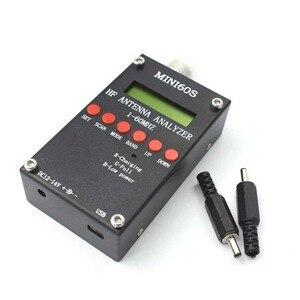 Image 2 - Nowa aktualizacja Bluetooth Android MINI60S dla MINI60 1   60 Mhz HF ANT SWR analizator antenowy miernik C4 006