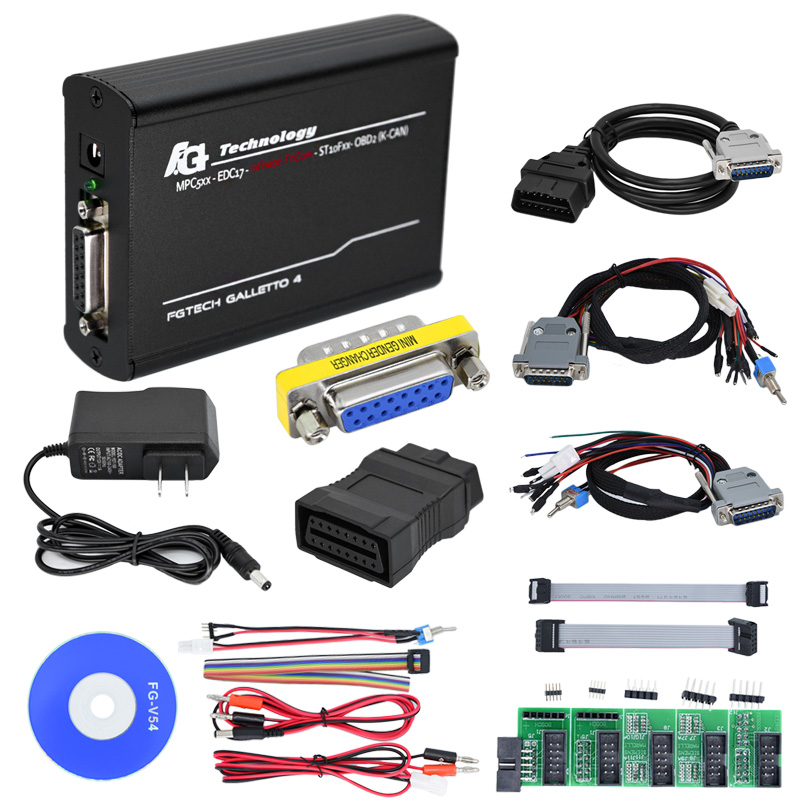 Newest Fgtech Galletto 4 Master V54 ECU Chip Tuning tool FG Tech V 54 Unlocked Add OBD BDM Function dhl free fgtech galetto 4 master ecu chip tuning tool newest version fg tech v54 bdm tricore with compass as gift