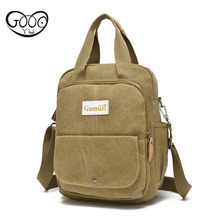 New multi-color trend leisure and durable men women multi-functional outdoor shoulder bag fashion canvas oblique postman pac