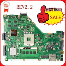 KEFU X55VD laptop motherboard for ASUS X55VD motherboard DDR3 rev2.2 Non-Integrated freeshipping 100% tested