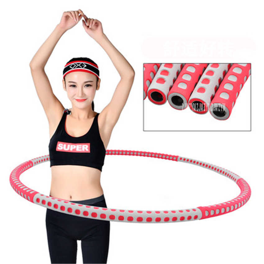 96cm Fitness Circle Removable Weight Loss Hard Tube Equipment Waist Slimming Fitness Fitness Circle Stainless steel Tube MLX888
