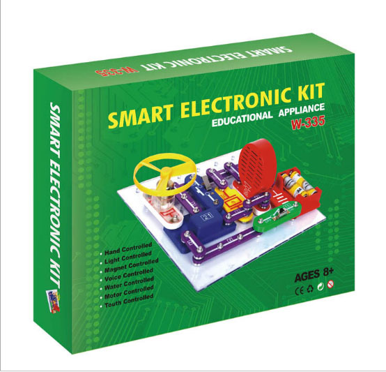 Students DIY Smart Electronic Block Kit Building Block Assembled Educational Puzzle Toy Improve Brain development For Kids smart electronic kit snap learning educational appliance toys diy building blocks models electronic 35 projects kid create toy