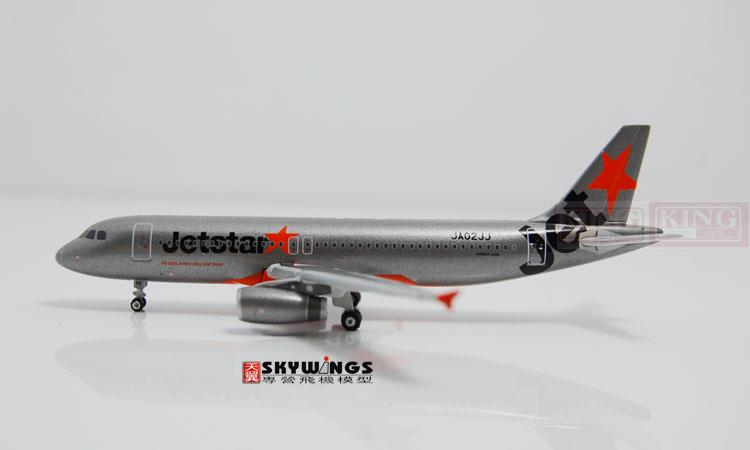 Phoenix 10658 JA02JJ 1:400 commercial Jetstar Japan Airlines A320 jetliners plane model hobby