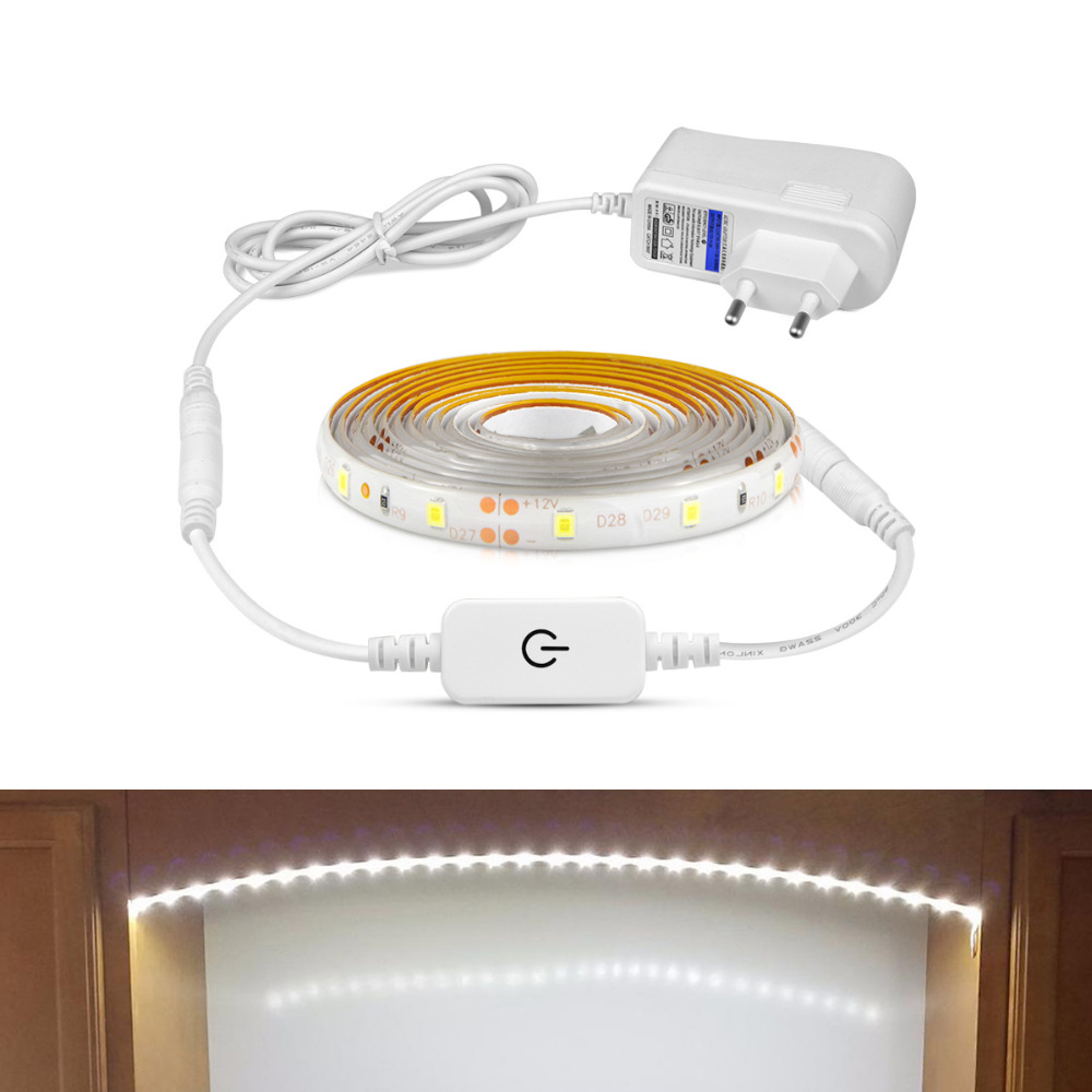 Dc Kitchen Supply: Touch Dimmer LED Night Light 1/2/3/4/5M Under Cabinet