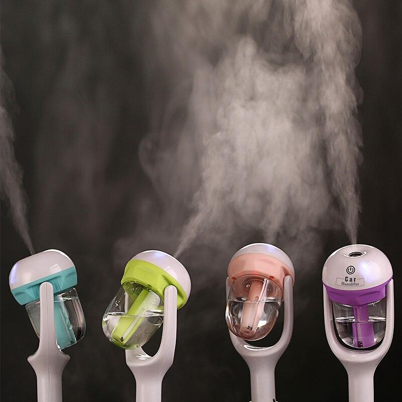 12 V Auto Dampf Luftbefeuchter Luftreiniger Aroma Diffusor Ätherisches öl diffusor Aromatherapie Nebel-hersteller Fogger A-A100