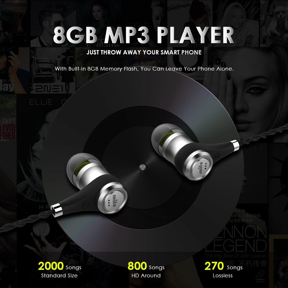 Mifo Neckband Sport Earphone I2 Magnetic Stereo Wireless Earbuds support Running Bluetooth Headset mp3 8G record with Microphone bluetooth headphones stereo sport headset support tf card 8g wireless earphone microphone neckband headset for iphone 7 android