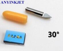 цена на 5pcs 30 Degree High Quality Loline blade Loline knife for Ioline Vinyl Cutter Plotter