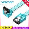 Tions Sata 3,0 7pin Daten Kabel Super Speed SSD HDD Sata III Rechten Winkel Festplatte für ASUS Gigabyte MSI Motherboard 0,5 m