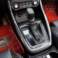 ABS Chrome For MG ZS 2018 accessories Car Styling Car gear shift knob frame panel Decoration Cover Trim ONLY FOR LHD
