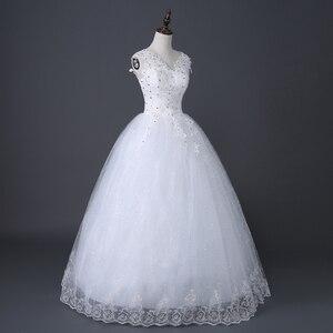 Image 2 - Desinger Simple Lace Wedding Dresses Custom made Cheap Bridal Gowns Vestido De Noiva Vintage Under 100
