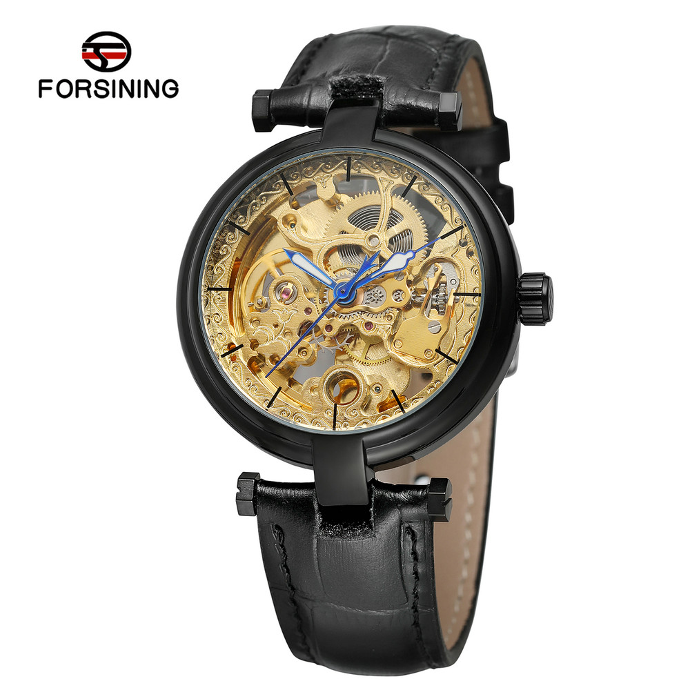 FORSINING Antique Men Leather Automatic Watch Luxury Man Watches Mechanical Business Skeleton Wristwatches Clock Montre HommeFORSINING Antique Men Leather Automatic Watch Luxury Man Watches Mechanical Business Skeleton Wristwatches Clock Montre Homme