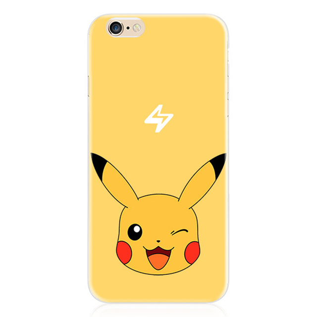 Pokemon Go for iphone 7 6 6s plus 5 5s SE Case Cover