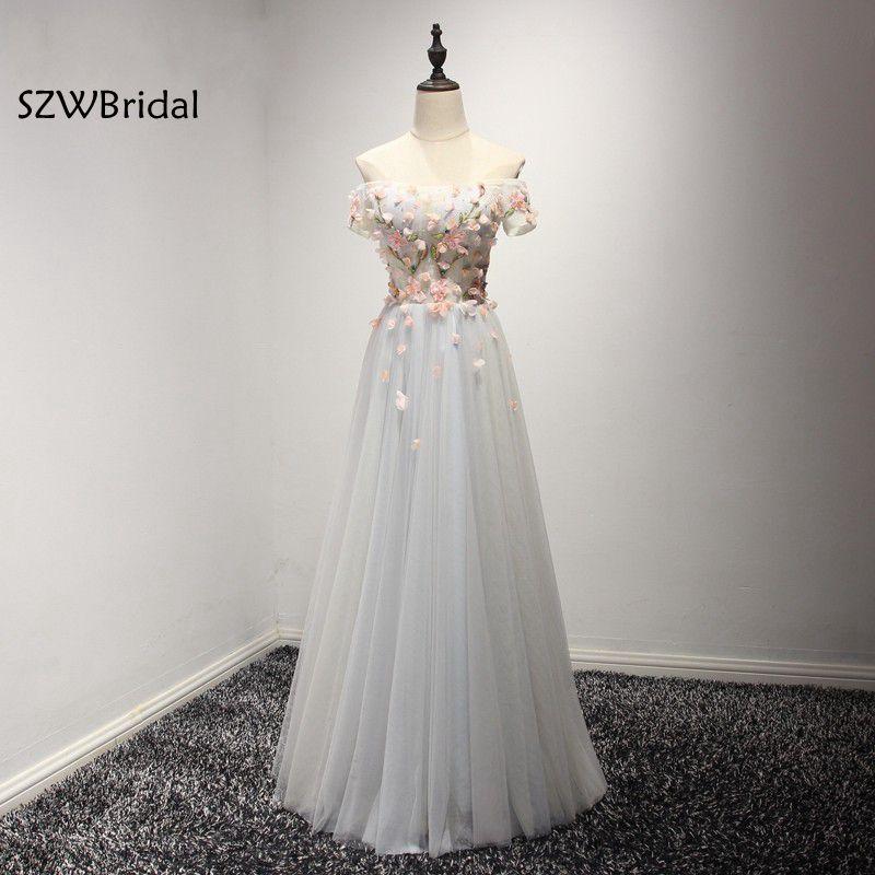 Fashion Off the shoulder Tulle A-Line Cheap   bridesmaid     dresses   2019 Vestido de festa Plus size   bridesmaid     dress   vestidos