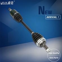 ZUK высокое качество правая сторона карданный вал CV Alxe полувал для HONDA CIVIC 2001-2005 ES5 ES6 ES7 ES8 26x25 длина зубьев: 625 см