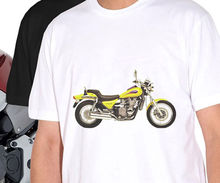 T-Shirt 2018 Fashion Men Tops Tee Shirts Classic Japanese Motorcycle Fans Zl 600 Eleminator 1995 Gr. S - 3X Personality Tees
