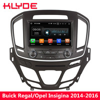 KLYDE 8 4G WIFI Octa Core Android 8.0 4GB RAM 32GB ROM Car DVD Multimedia Player Radio For Buick Regal/Opel Insignia 2014 2016